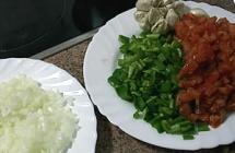 3.野菜を切る