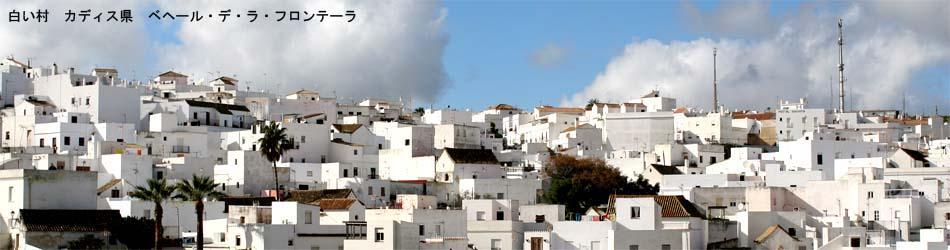 アンダルシアの白い村